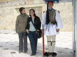 Guardia griega Atenas
