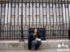 Delante de Buckingham Palace