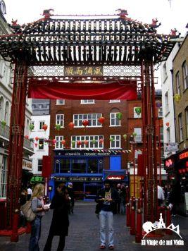 El barrio de Chinatown en Londres