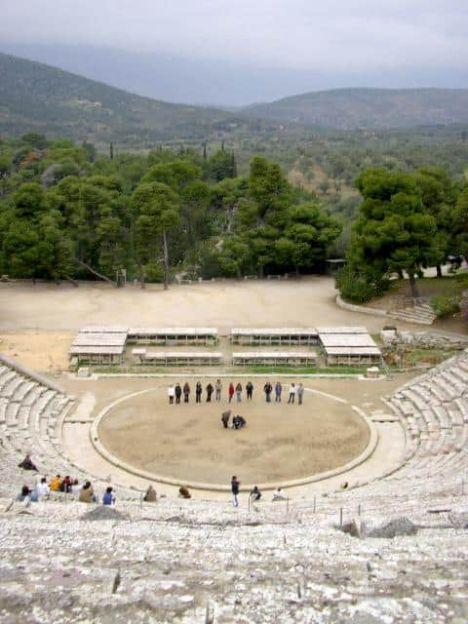 Teatro Epidauro Grecia