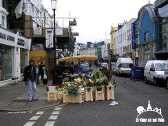 El barrio de Portobello en Londres