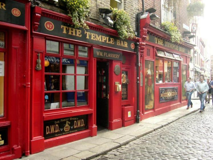 Temple Bar Dublín