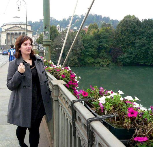 Río Po Turín Italia