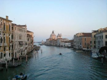 Gran Canal Accademia Venecia Italia