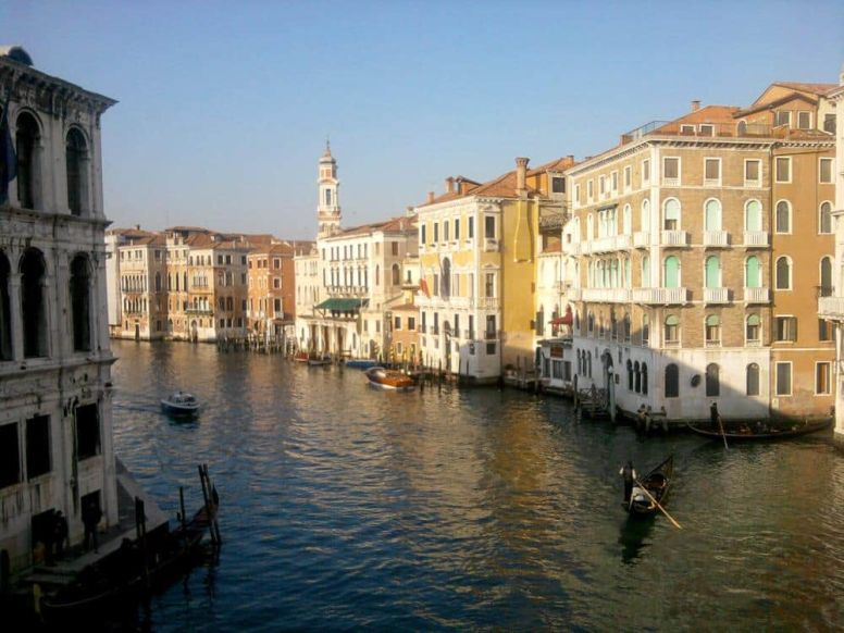 Gran Canal Venecia Italia