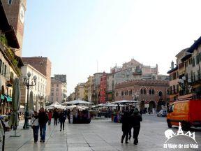 Plaza delle Erbe en Verona