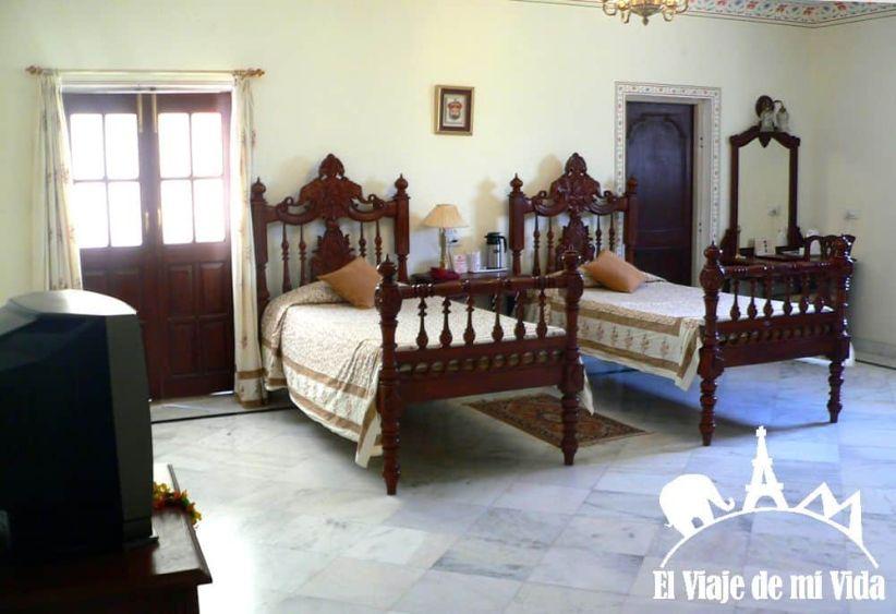 El Amar Mahal en Orchha