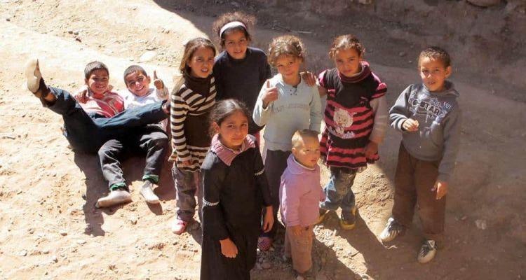 Niños marroquíes