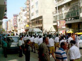 Desfiles Dussehra Nueva Delhi
