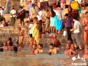 Benarés en India