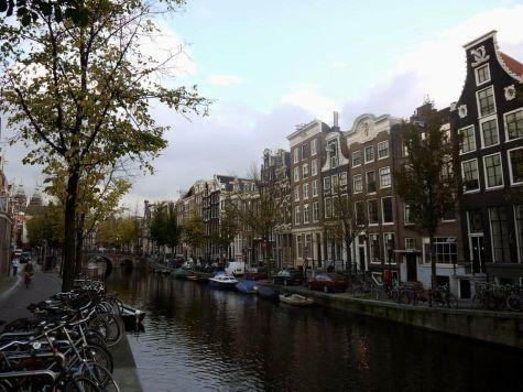 Fachadas Canales Ámsterdam