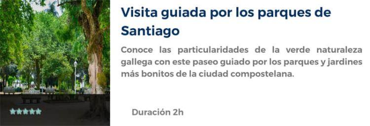 Visita guiada por los parques de Santiago