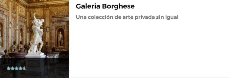Visita a la Galería Borghese