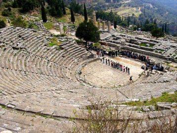 Teatro Delfos Grecia