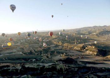 Vuelo en globo sobre la Capadocia