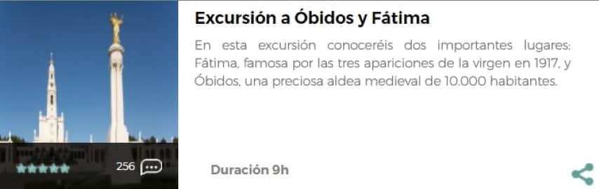 Excursión a Óbidos