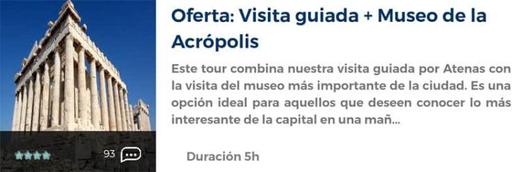Visita guiada en la Acrópolis