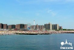 Conely Island a las afueras de Nueva York