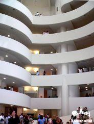 Museo Guggenheim por dentro