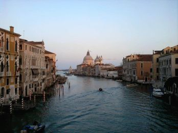 Gran Canal desde la Accademia Venecia