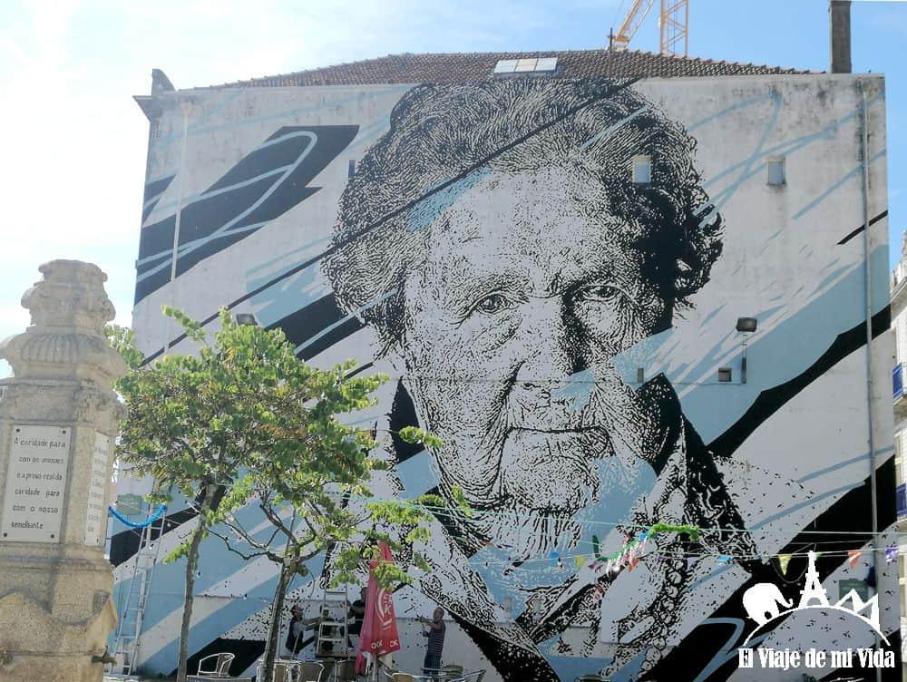 Streetart en Oporto