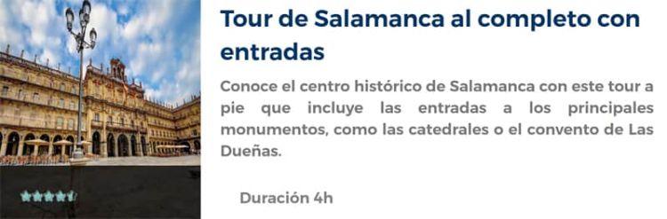 Tour por Salamanca