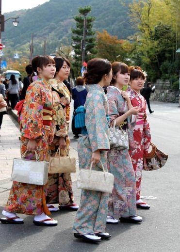 Kimonos Kioto