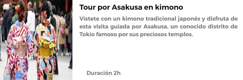 Tour en kimono