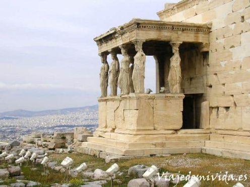 Erecteion Acropolis Atenas Grecia