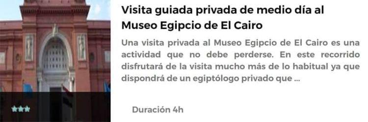 Visita al Museo Egipcio