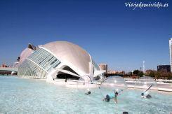 Ciudad de las Arte y las Ciencias Valencia Espana