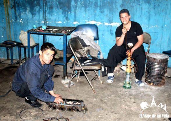 Mecánicos de Irán