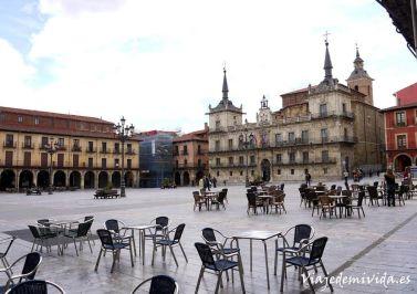 Plaza Mayor León España