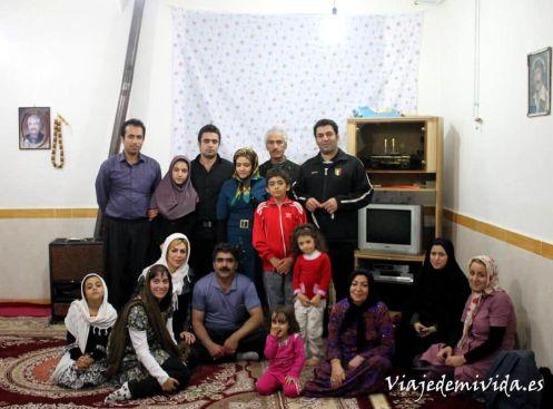 Familia iraní Kermanshah Iran