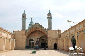 La entrada al Bazar