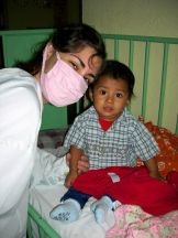 Maria en Guatemala Voluntariado Cooperatour
