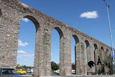 El acueductor de Évora