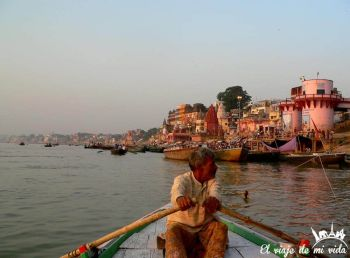 Ghats Benares India