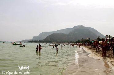 Playa Mondello Sicilia