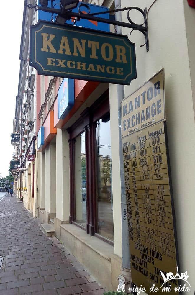 Casas de cambio en Polonia