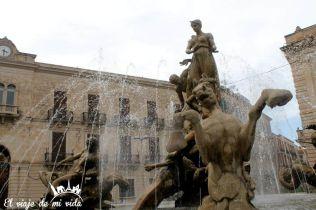 Piazza Archimede Siracusa Sicilia