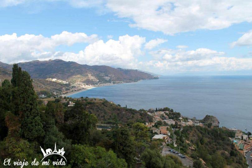 Vistas Taormina Sicilia