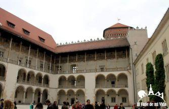 Interior del Castillo Wawel