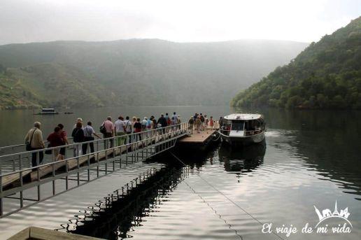 Catamaran Ribeira Sacra Galicia