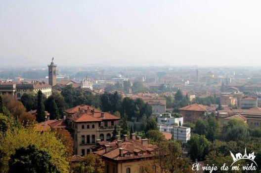 Ciudad Alta Bergamo Italia