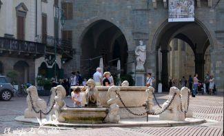 Piazza Vecchia Bergamo Italia