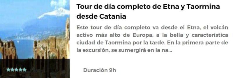 Excursión a Catania