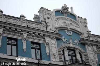 Art Nouveau Riga Lituania
