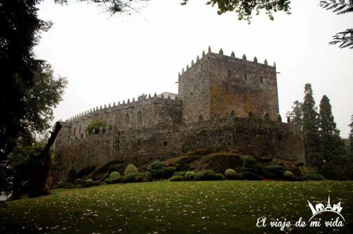 Castillo Soutomaior Arcade Galicia