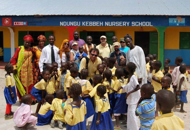 Inauguración Colegio Nedungu Kebbeh
